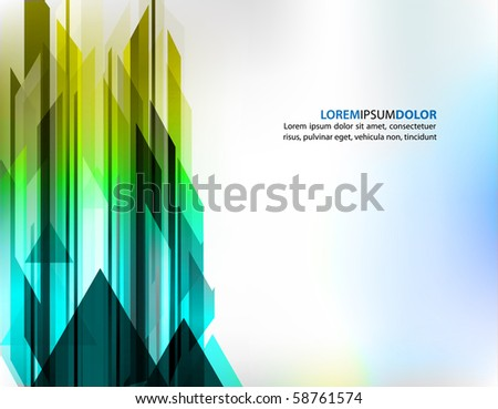 Hi-tech Urban Technology Related Background | Futuristic Vector Template