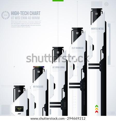 Hi-tech vector template. EPS10 #294669212