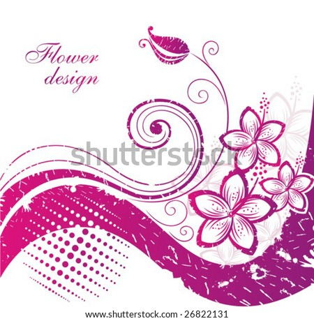 hibiscus wallpaper. stock vector : Hibiscus.