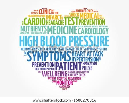 high blood pressure  hbp  heart