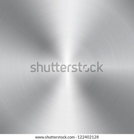 high contrast circular brushed