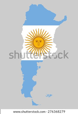 high detailed of argentina