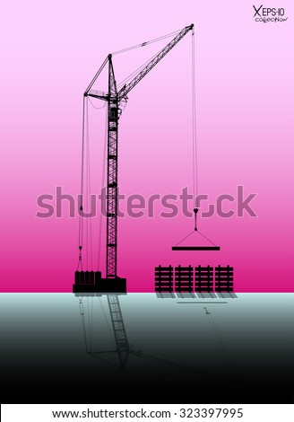 high detailed vector hoisting