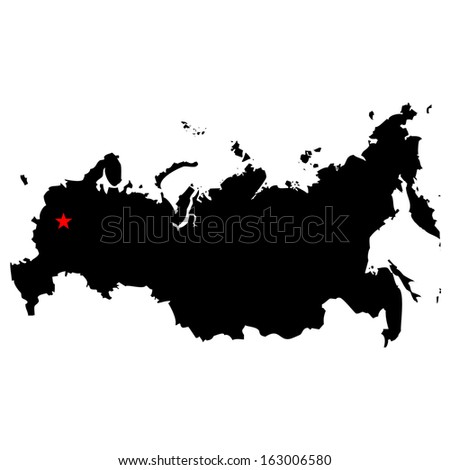 high detailed vector map with