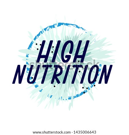high nutrition  beautiful