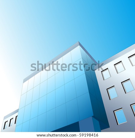 high office building