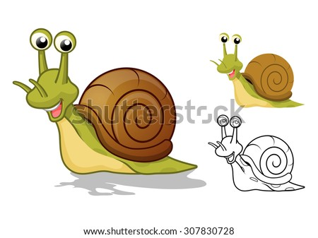 high quality detailed snail