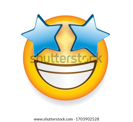 high quality emoticon isolated
