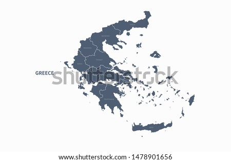 Greece Map Free Vector Art - (34 Free Downloads)