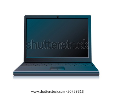 high quality icon of the laptop