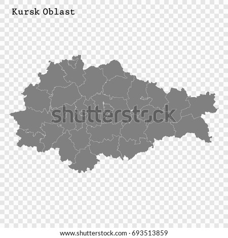 high quality map of kursk