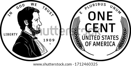 high quality one cent coin us