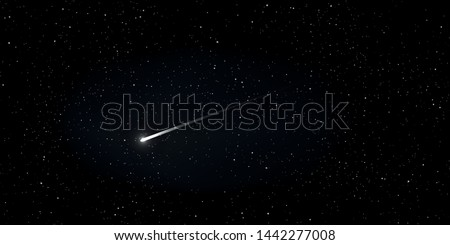high quality star and comet