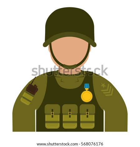 high ranking military man with