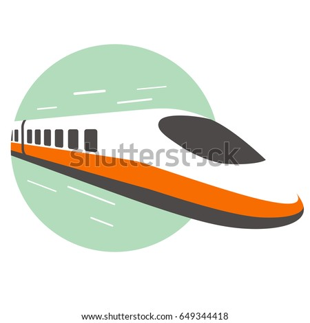 high speed bullet train come