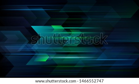 High speed. Hi-tech. Abstract technology background. Vector illustration