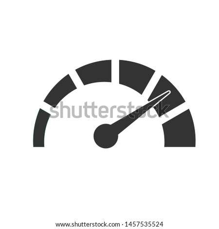 High speed icon vector design,isolated
