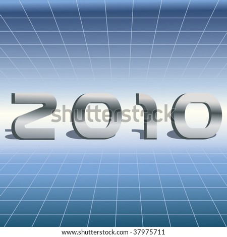 High Tech 2010 - stock vector