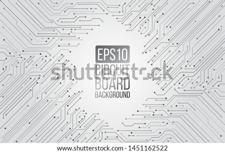 high tech technology background