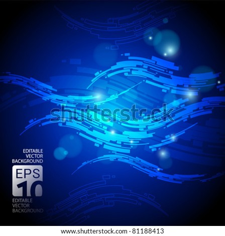 high tech vector abstract background