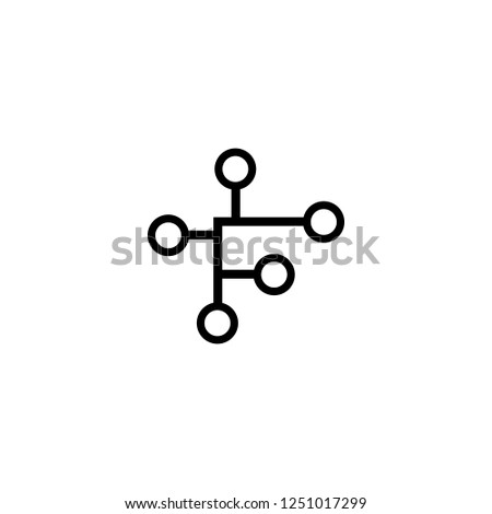 High Tech vector icon. High Tech sign on white background. High Tech icon for web and app