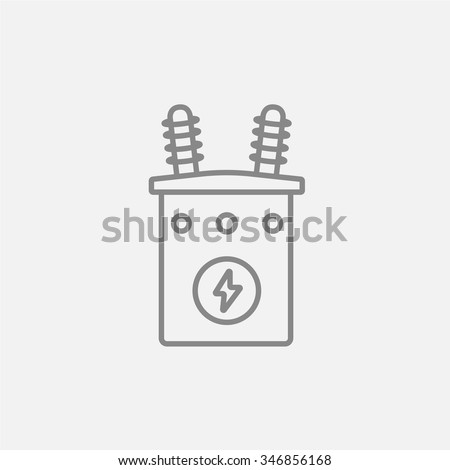 high voltage transformer line