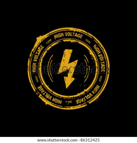 High voltage vector stamp