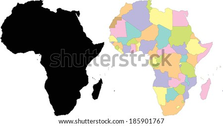 Map Vector of Africa