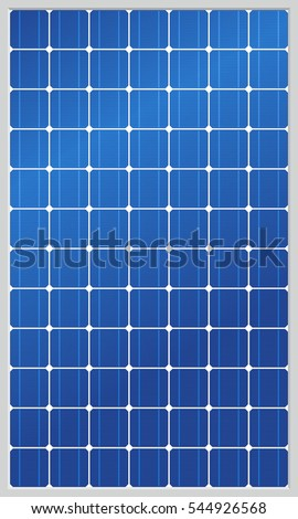 Highly Detailed Solar Panel.