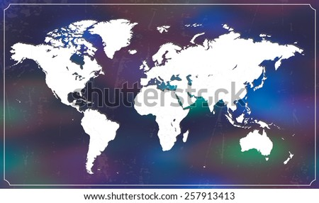 Highly detailed world map all countries are separable vector highly detailed world map all countries are separable vector illustration gumiabroncs Image collections