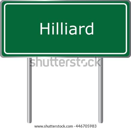 hilliard   florida  road sign