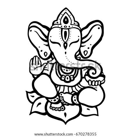 hindu elephant lord ganesha