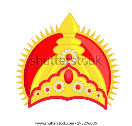 Hindu Golden God's Crown Stock photo ©