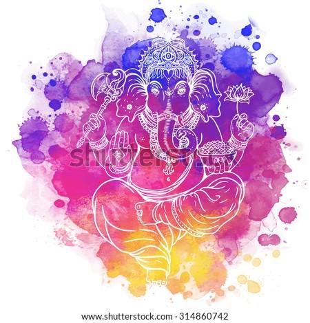 hindu lord ganesha meditation