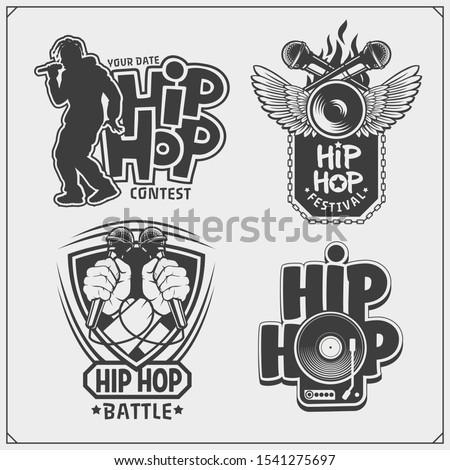 hip hop and rap emblems
