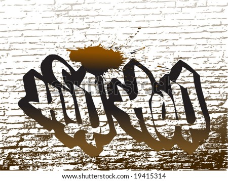 hip hop graffiti wallpapers. vector : hip hop graffiti