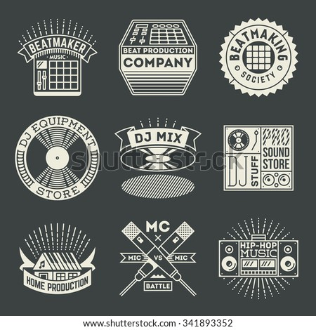 hip hop music insignias