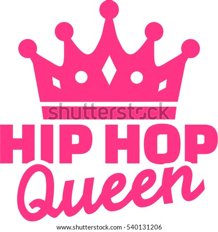 hip hop queen with crown