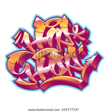 hip hop word in readable