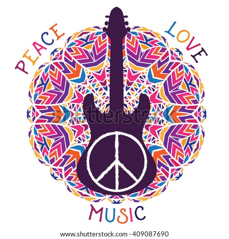 hippie peace symbol peace