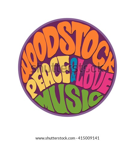 hippie style love and music