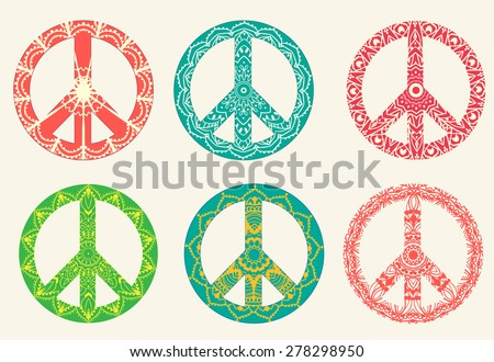 Peace Symbols Download Free Vector Art Stock Graphics Images