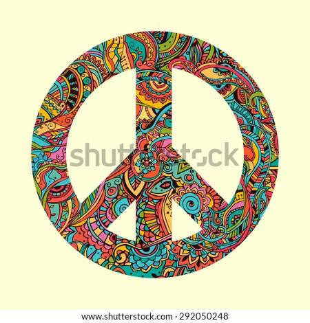hippie style ornamental