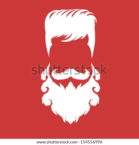 Hipster fashion silhouette style, vector illustration