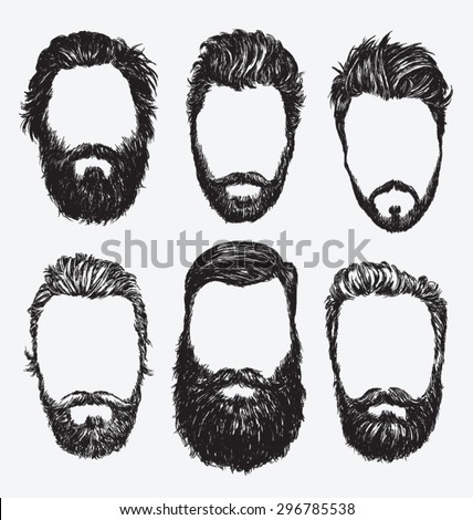 hipster hair and beards