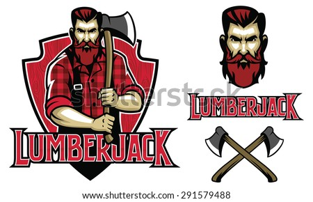 Image result for lumberjack logo
