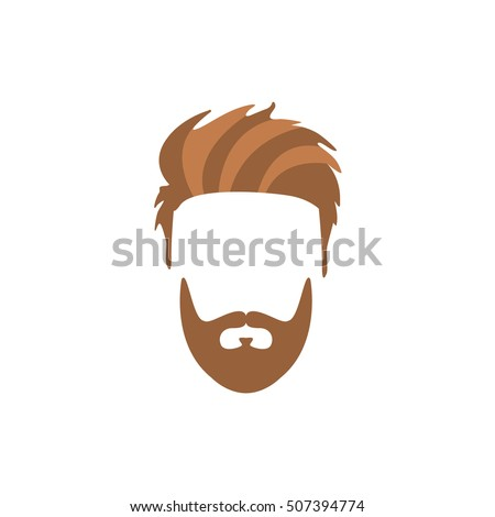 hipster male hair and facial
