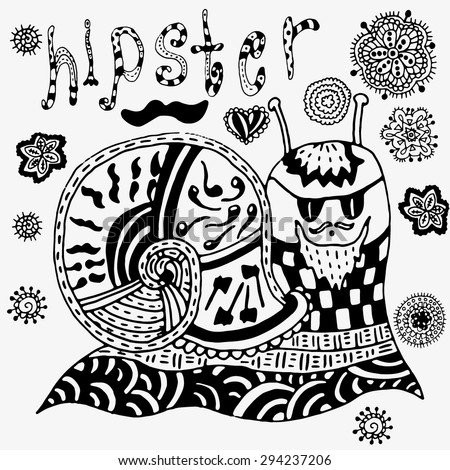 Hipster Coloring Book Coloring Pages