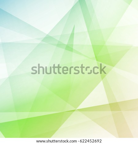 Hipster style colorful crystal modern geometrical background. Lines shapes and colors form vivid visual composition layout. Vector illustration