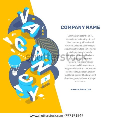 hiring people concept vector